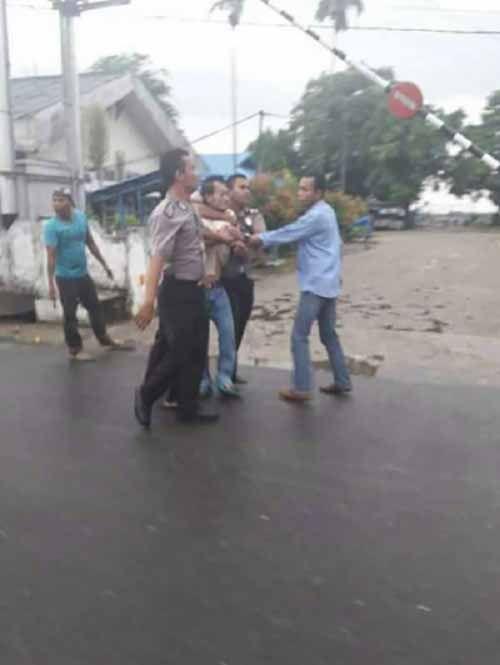 Bank Riaukepri Cabang Tembilahan Kembali Dimolotov, Pelaku Kasus Sebelumnya Belum Tertangkap
