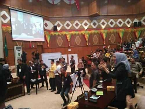 Sengit dan Menegangkan, Perolehan Suara Calon Wakil Gubernur Riau Imbang 31-31, Panitia Lakukan Pemilihan Ulang