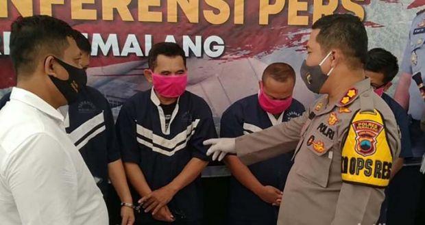 Empat Sekawan Wargad Ancam dan Peras Kades, Pelaku Berbagi Peran bak dalam Film demi Uang Rp10 Juta