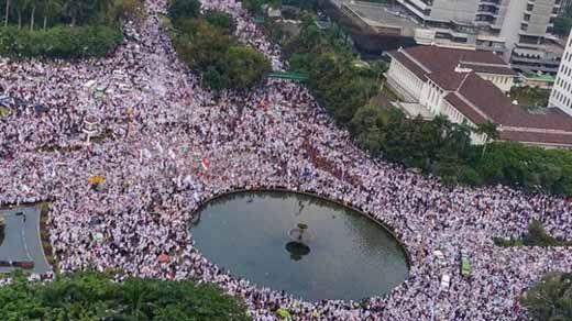 357 Warga Riau Ingin Ikut Aksi Bela Islam di Jakarta pada 2 Desember Nanti