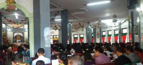 Sebelum Misa Natal, Personel Gabungan di Dumai Keliling Cek 87 Gereja