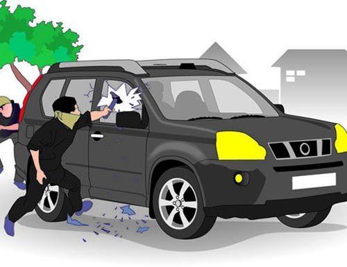 Nekat, Maling Beraksi di Parkiran Kantor BPKP Pekanbaru, Pecah Kaca Mobil dan Gondol Uang Rp80 Juta Milik Pensiunan BUMN