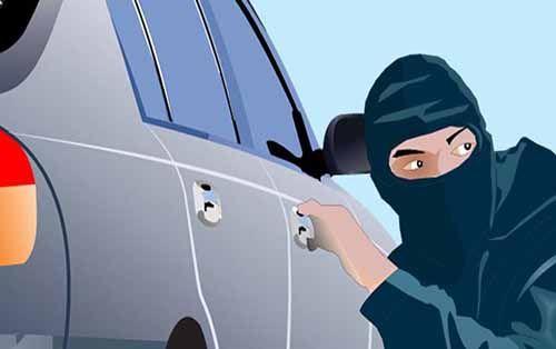Pencuri Spesialis Pecah Kaca Mobil Nekat Beraksi di Parkiran Kantor KONI Riau Jalan Gajah Mada Pekanbaru, Korbannya Anggota Polisi