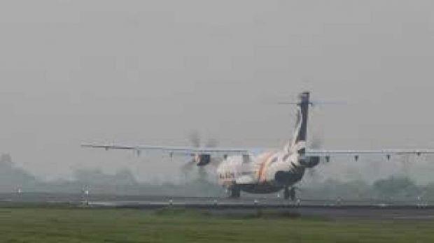 Bandara Pekanbaru Kembali Lumpuh akibat Kabut Asap, Seharian Belum Ada Pesawat Mendarat Maupun Berangkat