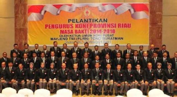 Ketua Umum dan 17 Pengurus Inti KONI Riau Ikut <i>Nyaleg</i>