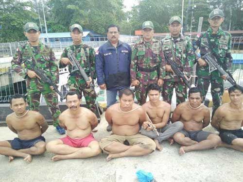 Beraksi Dini Hari, TNI AL Amankan Bajak Laut di Selat Malaka