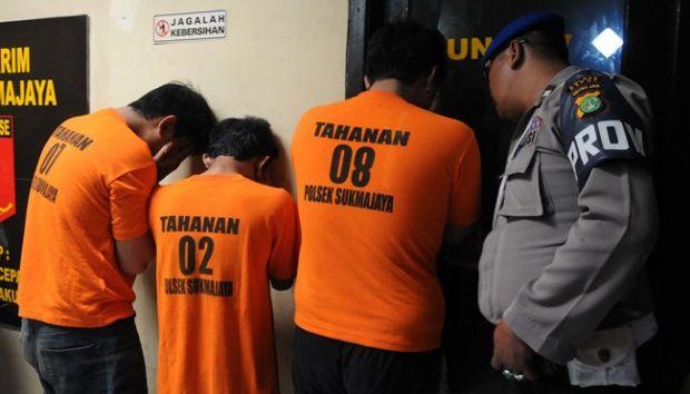 Komplotan Begal dengan Pistol Mainan Dibekuk Polisi di Persembunyian Jalan Inpres, Sudah 10 Kali Beraksi di Pekanbaru