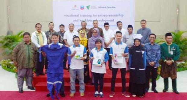 Lebih dari 200 Warga Riau Akan Ikuti Program Pelatihan Kejuruan dan Wirausaha yang Digulirkan PT CPI