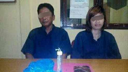 Ada Sabu di Antara Kisah Cinta Sepasang Suami Istri di Inhil Ini hingga Asmaranya Dilanjutkan di Penjara