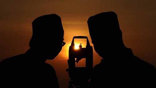 Kanwil Kemenag Riau Pantau Hilal dari Menara 99 Islamic Center Rohul dan Makoramil Minas