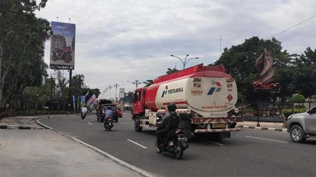 Bau Menyengat Partikel Kebakaran Lahan Masih Tercium di Pekanbaru