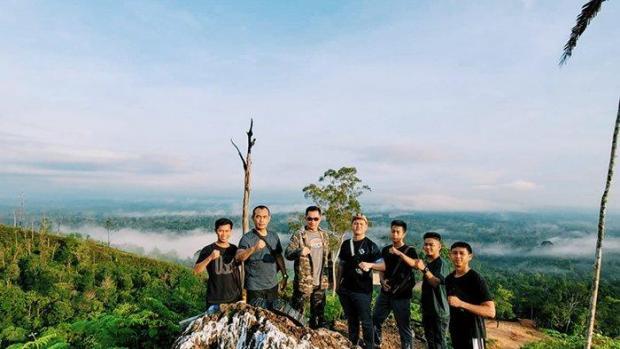 Uniknya Objek Wisata Bukit Condong di Indragiri Hilir karena Bisa Injakkan Kaki di 2 Provinsi Sekaligus, Riau dan Jambi