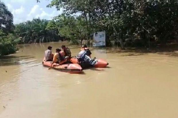 Sempat Lumpuh akibat Banjir di Rokan Hulu, Jalur Lintas Riau-Sumut Kembali Normal