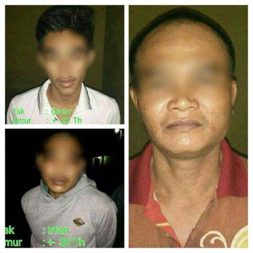 Tiga Tahanan Polsek Pasirpenyu Inhu Kabur saat Polisi Tidur