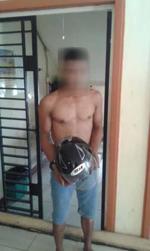 Gara-gara Curi Helm Milik Kakek 66 Tahun, Pria di Indragiri Hilir Ini Meringkuk di Tahanan