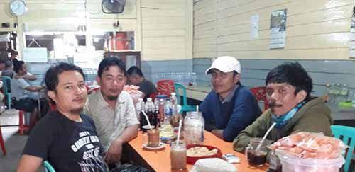 Wakil Ketua Bidang OKK Partai Idaman Inhil Konsolidasi ke PAC Kecamatan GAS