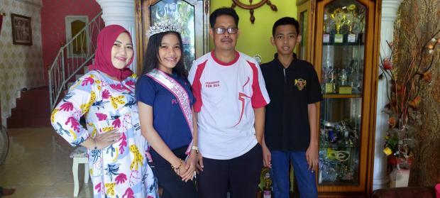 "Pernah Berniat Pindah Sekolah di Kota, Putri Azpazella sang Pemilik Selempang ""Putri Cilik Riau Pariwisata 2020"" Harumkan Nama Bengkalis"