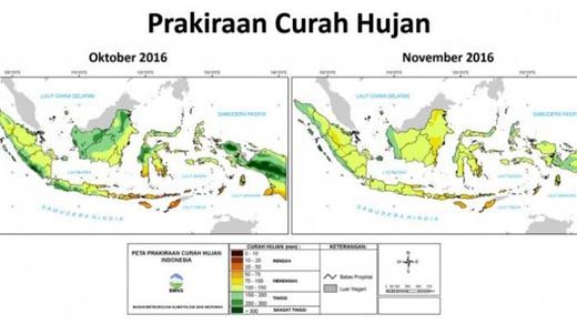 Waspada! Besok, Riau Berpotensi Dilanda Hujan Badai dan Angin Kencang