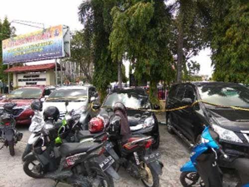 Komplotan Penggelapan Mobil dengan Modul Dirental Dibekuk Tim Jatantas Polda Riau