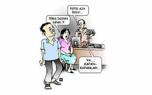 Meski 10 Ribu Blangko Sudah Ada, E-KTP Warga Pekanbaru Belum Bisa Dicetak, Mengapa?