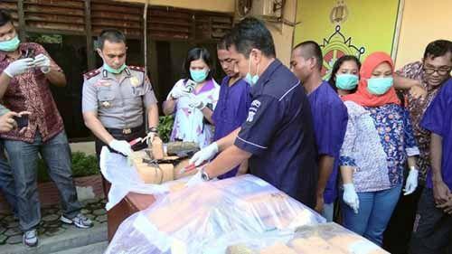 Ganja Seberat 16 Kg Gagal Dikirim ke Riau