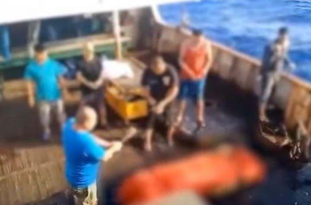 Berawal dari WNI yang Loncat dari Kapal China, Sindikat Pemalsu Sertifikat ABK Terbongkar, Pelakunya Ditangkap di Riau