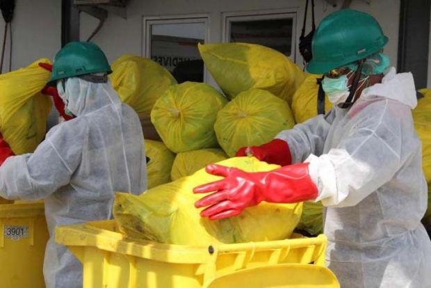Duh, 18 Ton Limbah Infeksius Covid-19 Terkumpul di Riau Selama Mei