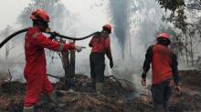 anggota-bpbd-indragiri-hilir-terkena-ispa-usai-berjibaku-padamkan-kebakaran-hutan