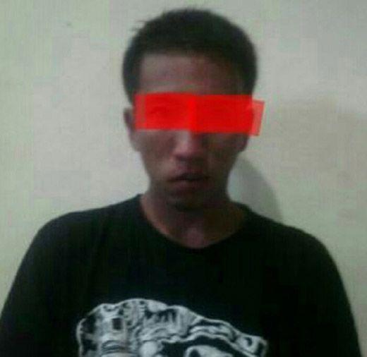 8 Bulan Hilang, DPO Kasus Penikaman Mahasiswa Ditangkap Reserse Polres Inhu di Depan SPBU Danau Raja Rengat