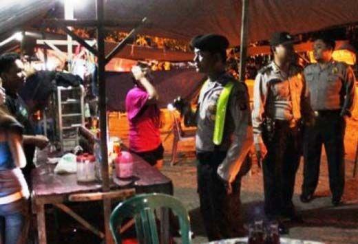 Razia Pekat, Polisi di Kuansing Amankan 7 Wanita Muda dari Kafe Lina dan Kafe Kamput