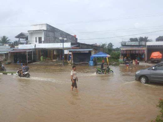 Derita Warga Rokan Hulu hingga Pasukan Selam Siaga Banjir