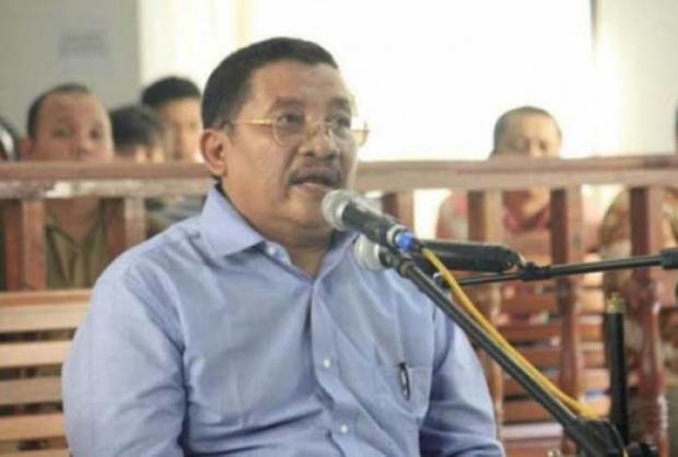 Sempat Bebas, Eks Bupati Pelalawan Azmun Jaafar Divonis MA 18 Bulan Penjara