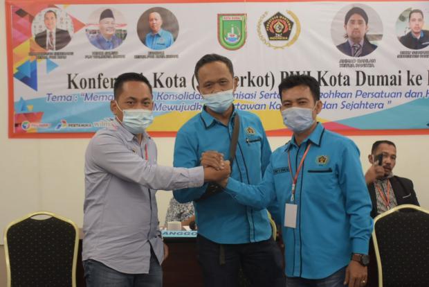 "Bambang ""Rio"" Hendriyanto Terpilih Jadi Ketua PWI Kota Dumai Periode 2020—2023"