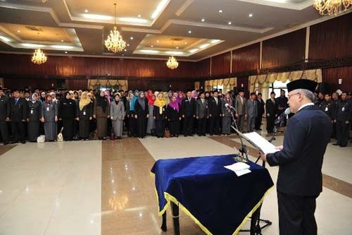 Dengar Kabar Mutasi, Kadis dan Kabiro di Lingkungan Pemprov Riau Pasrah…