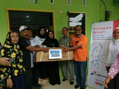 Dari Kelurahan Tanjungrhu Pekanbaru, RZ dan Pertamina Gulirkan Program Sehati