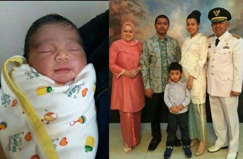 Lucu Menggemaskan, Gantengnya Garsyad Arafat Giovandi Cucu Kedua Gubernur Riau Arsyadjuliandi Rachman dari Anak Semata Wayangnya