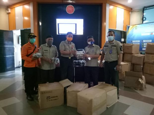 Alat Swab Antigen Disalurkan ke Seluruh Kabupaten dan Kota di Riau