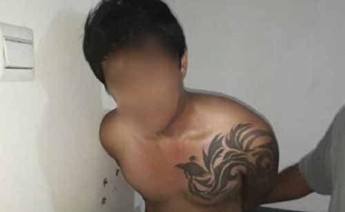 Pembunuh Sadis yang Potong-potong Korbannya setelah Tewas Ditikam di Desa Tanjungmedang Bengkalis Dibekuk Malam Tadi di Tempat Persembunyiannya di Apartemen Jakarta Utara