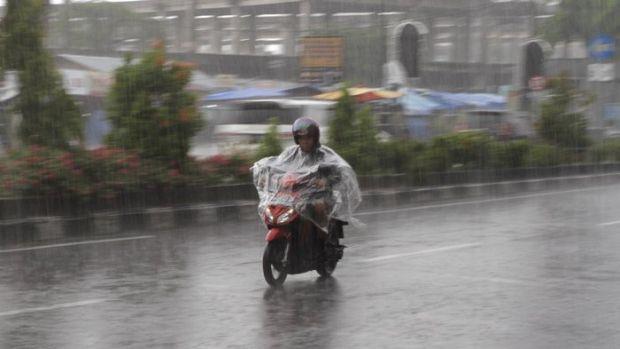 Hari Ini Sebagian Wilayah Riau Bakal Diguyur Hujan