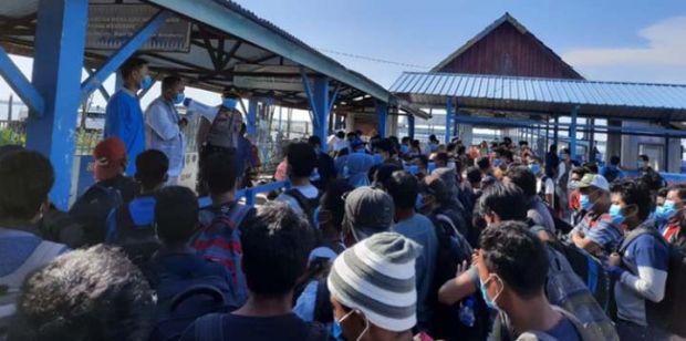 346 TKI dari Malaysia yang Tiba di Kepulauan Meranti bukan Hanya Warga Riau, Ada Asal Sumut dan Sumbar