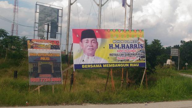 "Sesama Balon Gubernur Riau dari Partai Golkar seperti ""Kucing-kucingan""; Syamsuar Umrah, Harris ""Masuk"" ke Siak"