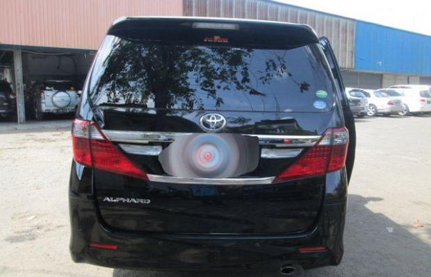 """Dua Unit Mobil Mewah Toyota Alphard """"Raib"""" di Kantor Badan Penghubung Riau di Jakarta, Diduga Dilarikan Oknum Pejabat"""