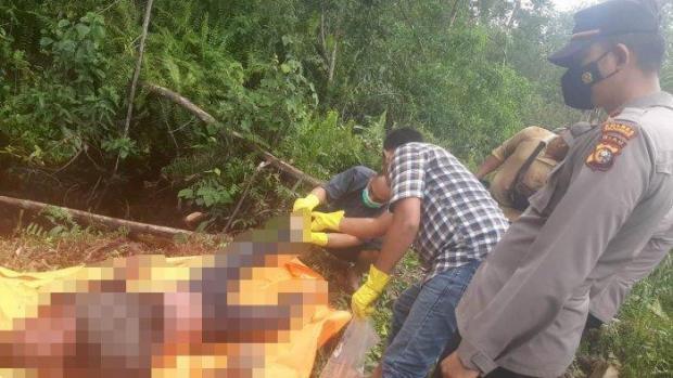 Penemuan Mayat yang Tinggalkan Pesan <i>Game Over</i> Hebohkan Warga Desa Sering Pelalawan