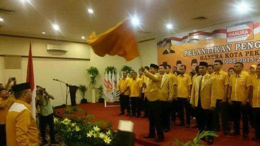 Ali Suseno Resmi Gantikan Darnil Pimpin DPC Hanura Pekanbaru, Ketua DPD Riau: Kalau dalam Sebulan Pengurus PAC hingga Ranting Belum Terbentuk, Siap-siap Dicopot!