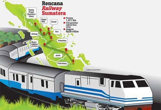 Kota Dumai akan Miliki 4 Stasiun Kereta Api, Berikut Lokasinya