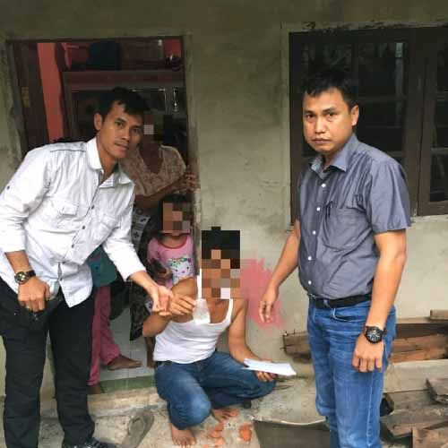 Pengedar Narkoba di Pekanbaru Diciduk setelah Terkecoh Polisi Menyamar