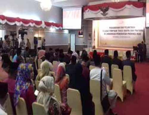 43 Pejabat Pemprov Riau Dilantik Pagi Ini untuk Isi OPD Baru