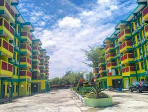 Demi Lengkapi Fasilitas Rusunawa Haji di Jalan Mekar Sari Pekanbaru, Dinas Perkimnah Riau Rogoh Rp2 Miliar