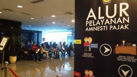 Ikut <i>Tax Amnesty</i>, Wajib Pajak dari Pekanbaru Ini Rela Menginap di Kantor DJP Jakarta