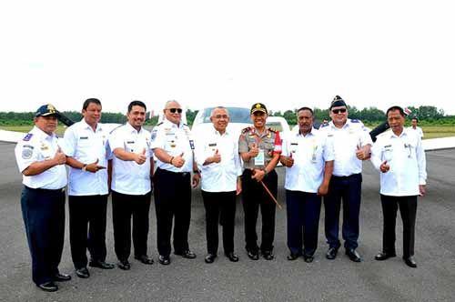 Pemkab Indragiri Hulu Senang Pemerintah Pusat Dirikan Sekolah Pilot di Bandara Japura Rengat